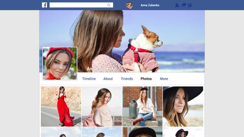 My Facebook After Effects Template