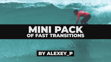 Mini Pack Of Fast Transitions Premiere Proテンプレート