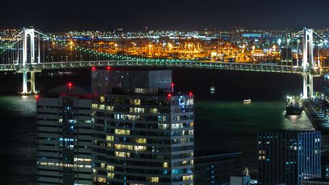 Time-lapse of Tokyo Bay GIF