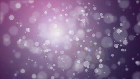 Dark purple pink bokeh particle background Animation