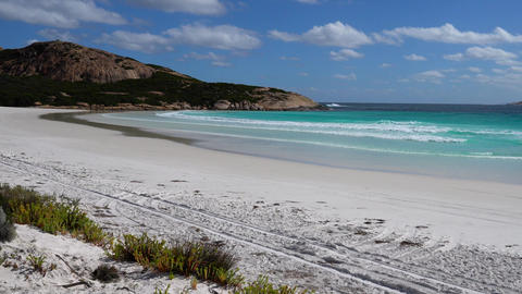 Wharton Beach, Cape Le Grand National Park, Western Australia Footage