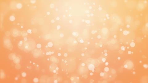Orange bokeh lights animated background Animation