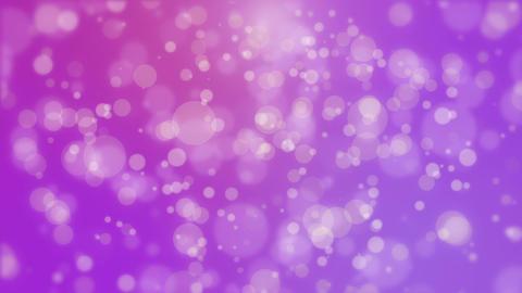Glowing purple pink bokeh background Animation