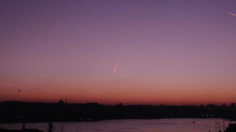 Istanbul Sunset Footage