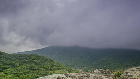 Mountain Storm Footage