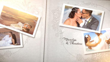The Wedding Album After Effects Project