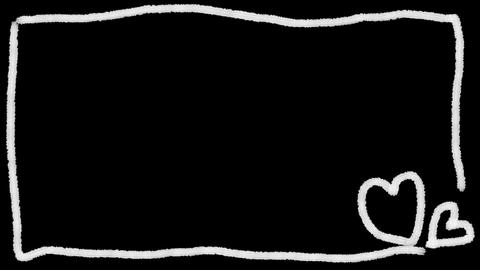 動く外枠 ハート Animation