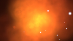 Orange gaseous cloud effect Animation