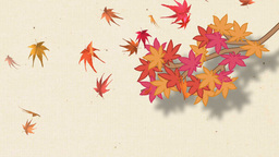 秋背景 Animation