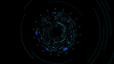 Cosmic Collider 4K 02 Vj Loop Animation