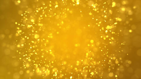 Golden Sparkles Animation