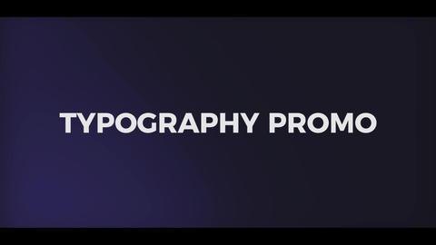Dynamic Typography Promo Premiere Pro Template