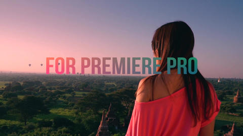 Travel Color Presets Premiere Pro Template