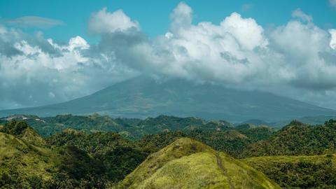 Mayon Volcano Philippines 4K Footage