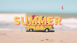 Summer Slideshow Premiere Proテンプレート