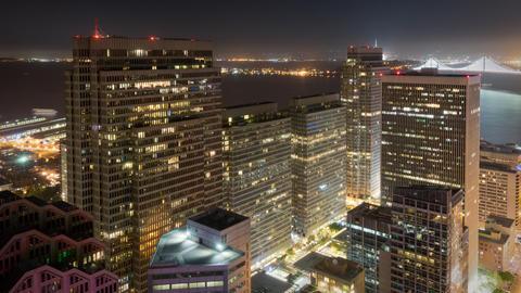 Night Time Lapse San Francisco GIF