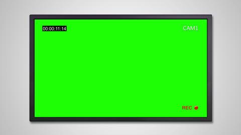 TV display of cctv Animation