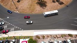 [alt video] FROM A DRONE Long Beach Traffic Circle