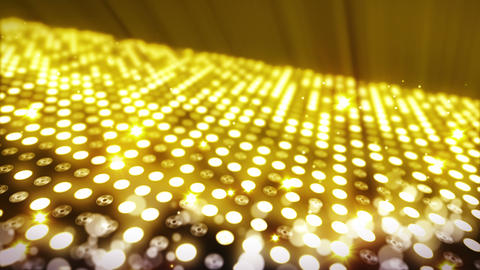 Stage Lighting Background with Many Lights Effect, Abstract Disco Loop Animation Animation
