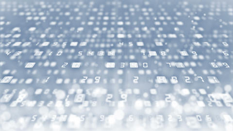 Many Numbers Background, Business CG animation, Loop CG動画