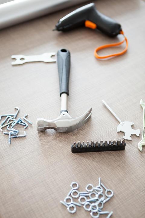 Electric screwdriver and other tools Fotografía