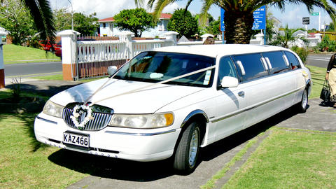 Luxury vintage wedding car and limo 영상물