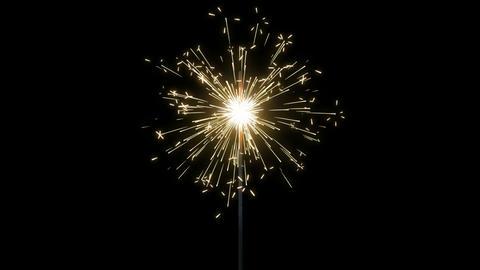 Fireworks Sparkler Loops GIF