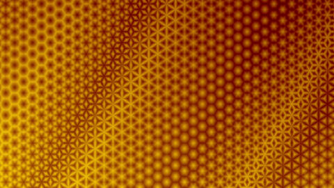 Starry Yellow and Red Pattern Background Animation