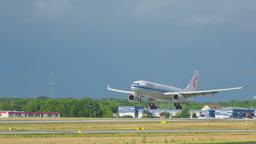 Airbus 330 landing Footage
