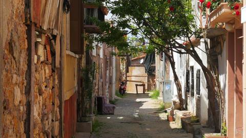 traditional turkish houses, travel destination, ayvalik, turkey Live Action