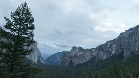 Yosemite Valley Time-lapse, Wide Footage