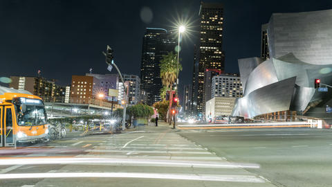 Disney Concert Hall Time-lapse Footage