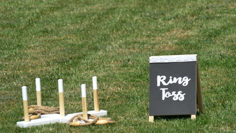 interesting outdoor lawn games GIF