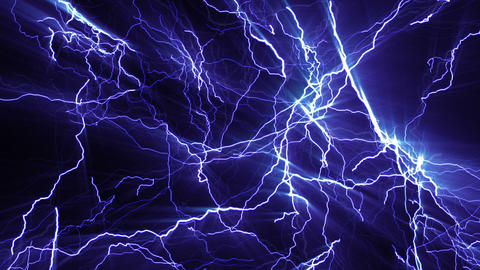 Lightning_Background Animación