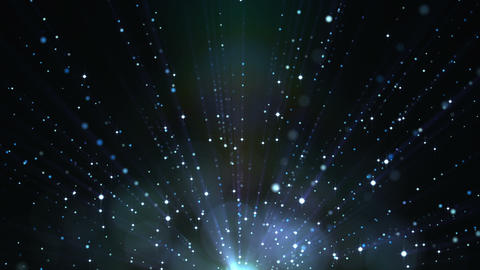 Light_Particles_Background CG動画