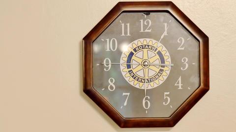 closeup shot of clock on wall GIF
