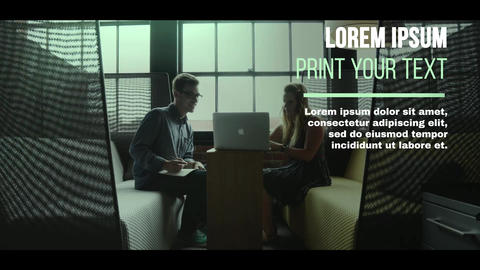 Сorporate Promotion SlideShow After Effects Template