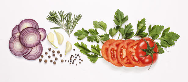 food, ingredient, vegetable, white, background, isolated, slices, Detox, diet, フォト