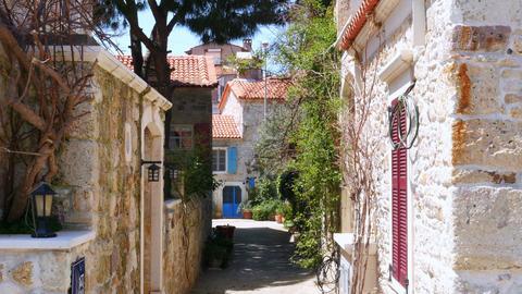 traditional turkish houses, travel destination, foca, turkey Live Action