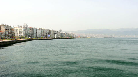 general city view, daliy life, izmir, turkey Footage
