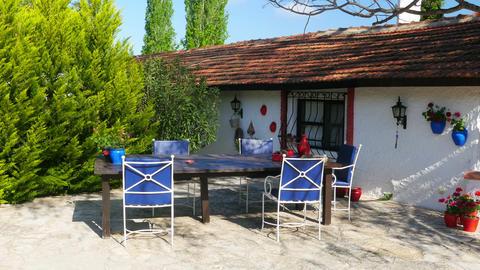 traditional turkish houses, travel destination, kusadasi, turkey Footage