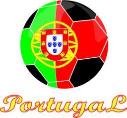 Portugal football icon ベクター