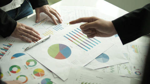 Business people brainstorming in office GIF