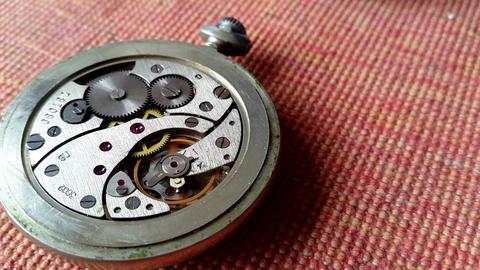 Clock mechanism Footage