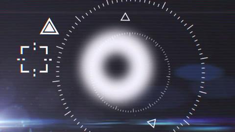 Sci-Fi Glitch Logo After Effects Template