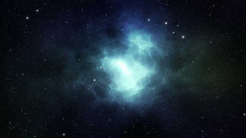 Deep space background loop animation Animation