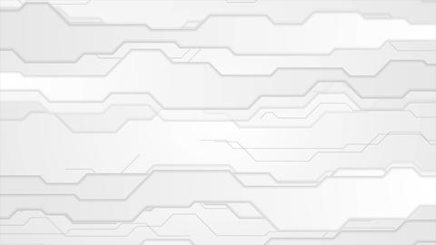 Grey abstract technology video animation Animation