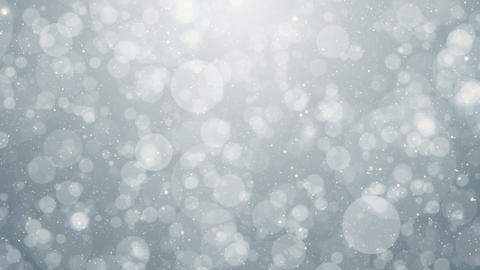 Particles white business clean bright glitter bokeh dust abstract background Animación