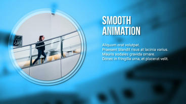 Simple Modern Corporate Slideshow Template After Effect