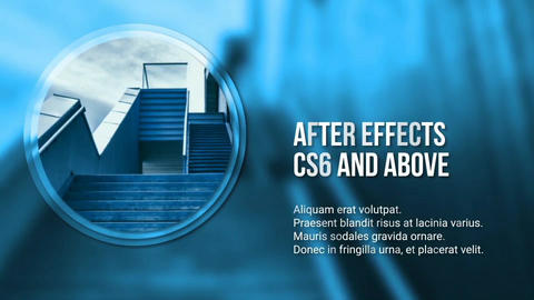 Simple Modern Corporate Slideshow After Effects Template